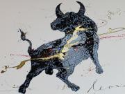 Toro Nero Y Oro
